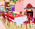 Christmas Dining Room 2 - karácsonyi lányos játék