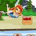 Fairy apple math, Kicsiknek, gyerekeknek való ingyen online játékok