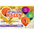 air ballon rally game